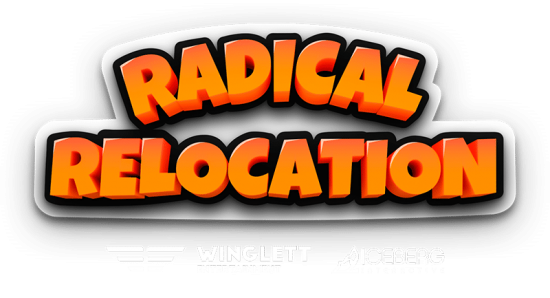 Radical Relocation Logo With Dev